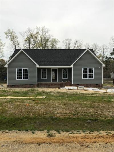 Dinwiddie County Single Family Home For Sale: 4404 Alyssa Lane