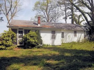Middlesex County Single Family Home For Sale: 619 Brandon Point Road