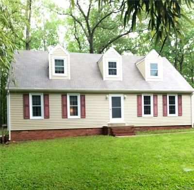 Powhatan County Single Family Home For Sale: 2101 Scarlet Mill Lane