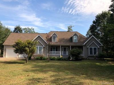 Heathsville Single Family Home For Sale: 164 Potomac Way Lane