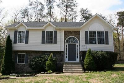 Ruther Glen Single Family Home For Sale: 949 Swan Lane