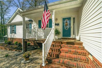 Aylett Single Family Home For Sale: 90 Eula Court
