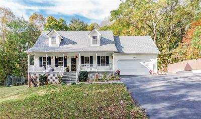 Powhatan Single Family Home For Sale: 2509 Georges Road