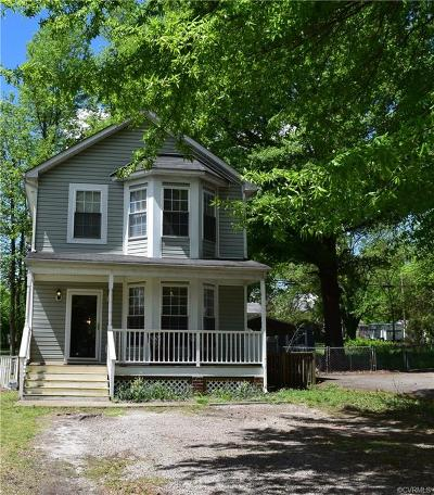 Richmond Single Family Home For Sale: 3500 Waverly Boulevard