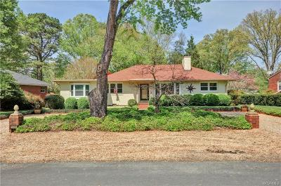 Richmond Single Family Home For Sale: 5308 Windingbrook Road