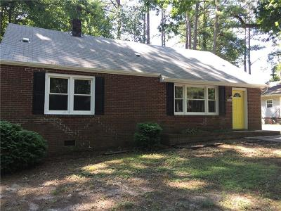 Petersburg Single Family Home For Sale: 522 S Park Drive