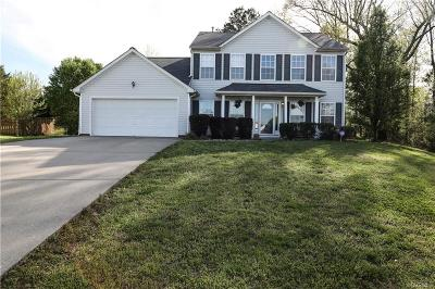 Chesterfield VA Single Family Home For Sale: $275,000