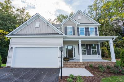 Hanover County Single Family Home For Sale: 9989 Puddle Duck Lane