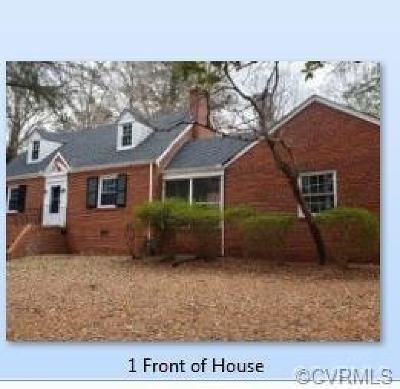 Richmond Single Family Home For Sale: 4401 N Huguenot Road