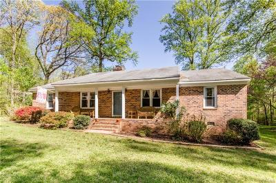 Powhatan VA Single Family Home For Sale: $245,000