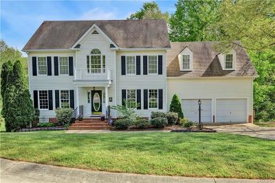 Chesterfield Single Family Home For Sale: 8218 Hampton Glen Drive