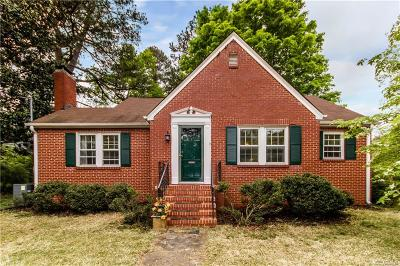 Hopewell Single Family Home For Sale: 2804 W Broadway