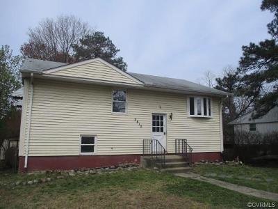 Henrico Single Family Home For Sale: 3612 Denison Road