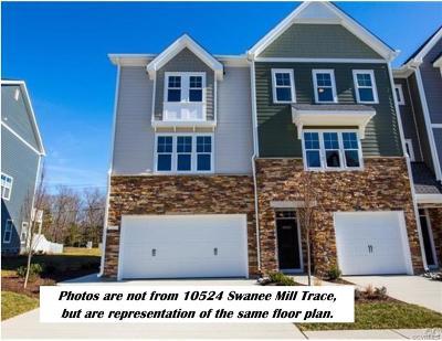 Glen Allen Condo/Townhouse For Sale: 10524 Swanee Mill Trace #I-1