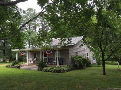 Heathsville Single Family Home For Sale: 688 Wicomico Point Road