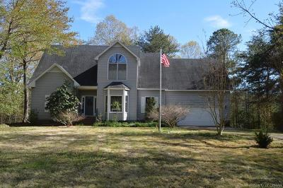 Heathsville Single Family Home For Sale: 50 Witch Duck Circle