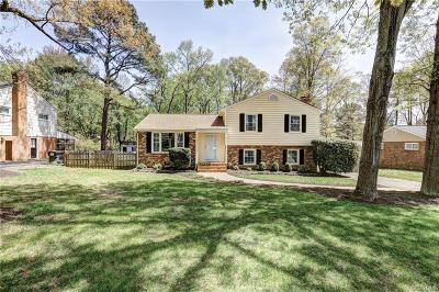 Henrico Single Family Home For Sale: 1519 Village Grove Road