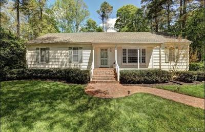 Richmond Single Family Home For Sale: 8420 Cherokee Road