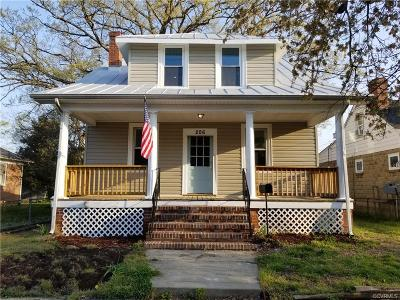 Colonial Heights Single Family Home For Sale: 206 Lynchburg Avenue