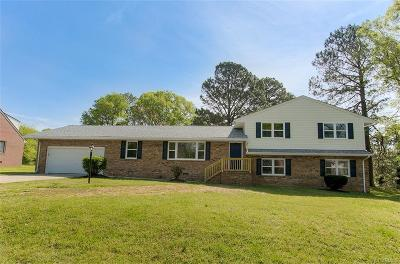 Chesterfield Single Family Home For Sale: 19105 Andrews Drive