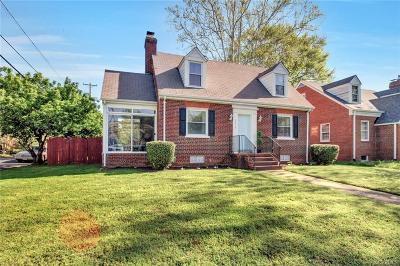 Richmond Single Family Home For Sale: 3010 Douglasdale Road