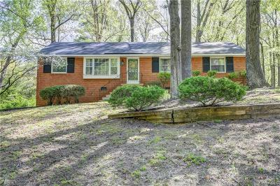 Single Family Home For Sale: 1835 Blakemore Road