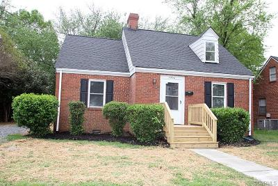 Richmond Single Family Home For Sale: 1906 Ruffin Road