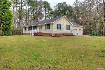 Sussex County Single Family Home For Sale: 22663 Cabin Point Road
