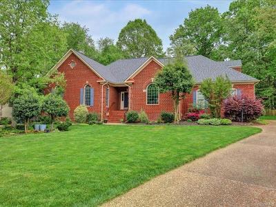 Glen Allen Single Family Home For Sale: 5837 Ascot Glen Drive