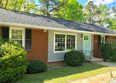Hanover Single Family Home For Sale: 8033 Willow Avenue