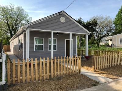 Richmond Single Family Home For Sale: 1710 N 21st Street
