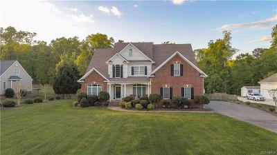Single Family Home For Sale: 412 Walthall Crest Court