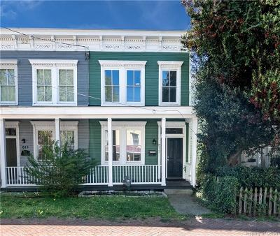 Richmond Single Family Home For Sale: 813 N 26th Street