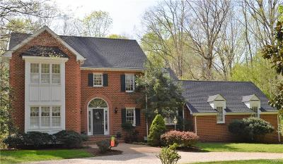 Chester, Chesterfield Single Family Home For Sale: 6450 Glebe Point Road