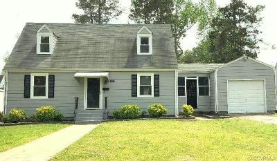 Colonial Heights Single Family Home For Sale: 203 N Valley Road