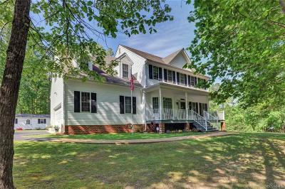 Aylett Single Family Home For Sale: 7376 W River Road