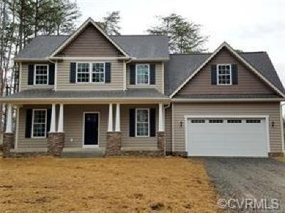 Ruther Glen Single Family Home For Sale: 134 New Providence Drive