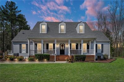 Ruther Glen Single Family Home For Sale: 24017 Telegraph Road