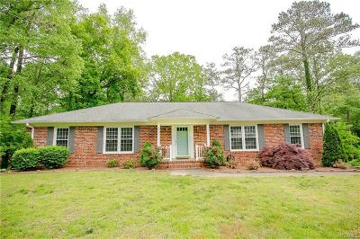 Mechanicsville Single Family Home For Sale: 9154 Chartwell Court