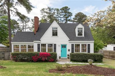 Richmond Single Family Home For Sale: 7413 Three Chopt Road