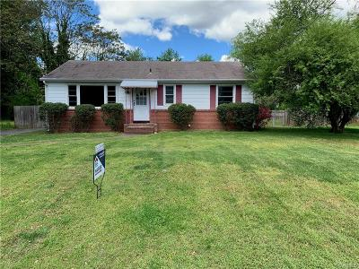 Henrico Single Family Home For Sale: 3506 Ammons Avenue