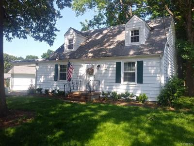 Hopewell Single Family Home For Sale: 3207 Evergreen Avenue