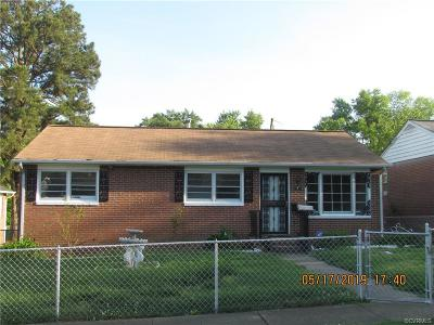 Single Family Home For Sale: 1415 Ashley Street