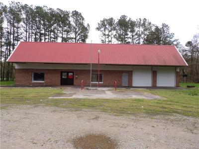 Amelia County Commercial For Sale: 17961 Genito Road