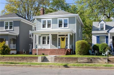 Richmond Single Family Home For Sale: 306 Essex Place