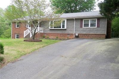 Chester VA Single Family Home For Sale: $209,000