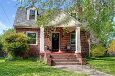 Richmond Single Family Home For Sale: 1706 Elmsmere Avenue