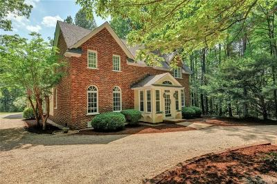 Powhatan County, Amelia County Single Family Home For Sale: 1815 Rock Point Drive