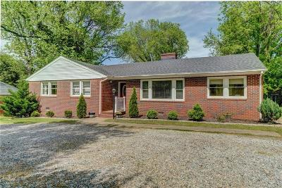 Richmond Single Family Home For Sale: 5952 Forest Hill Avenue
