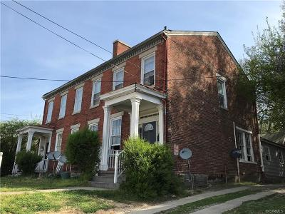 Petersburg Single Family Home For Sale: 25 S Jefferson Street